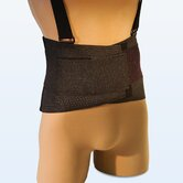 Ventilated Deluxe Elastic Back Belt in Black