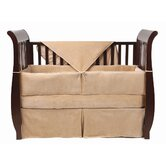 Four Piece Organic Cotton Velour Crib Set