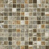 "Vesale Stone 1"" x 1"" Decorative Square Mosaic in Moss"