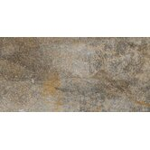 "Vesale Stone 10"" x 20"" Modular Tile in Smoke"