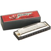 Old Standby Harmonica in Chrome - Key of Bb