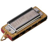 Little Lady Harmonica in Chrome - Key of C