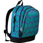 Big Dots Aqua Sidekick Backpack
