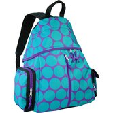 Ashley Big Dots Agua Soccer Bag