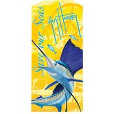 Guy Harvey Save Our Seas Sailfish Towel