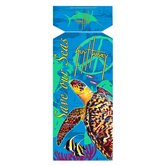 Guy Harvey Save Our Seas Turtle Towel