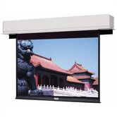 88136 Advantage Deluxe Electrol Motorized Front Projection Screen - 69x92""