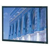 "High Contrast Da-Mat Da-Snap Fixed Frame Screen - 94 1/2"" x 168"" HDTV Format"