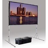 "Fast Fold Deluxe 3D Virtual Black Projection Screen - 63"" x 84"" HDTV Format"