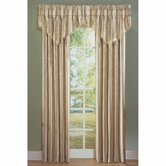 Capulet Stripe Drape and Valance Set in Parchment