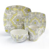 Bedazzled 16 Piece Dinnerware Set