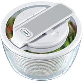 Smart Touch Salad Spinner 2-3 servings in White