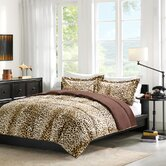 Cheetah Occelot Softspun Down Alternative Comforter Mini-Set