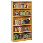 "Waterfall 70"" H Five Shelf Bookcase"