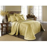 King Charles Matelasse Bedspread Bedding Collection in Sunshine