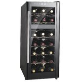 "31.7"" Dual-Zone Thermo-Electric Wine Cooler with Heating"
