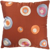 "T-2812 18"" Decorative Pillow in Paprika"