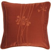 "T-2821 18"" Decorative Pillow in Paprika"