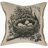 "T-3800 18"" Decorative Pillow in Beige"