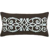 T-3832 21&quot; Decorative Pillow in Brown / Blue