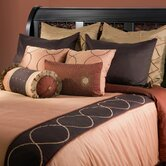 Spring Bedding Set in Brown / Rust