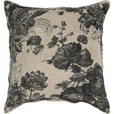 Beige and Black Decorative Pillow