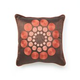 T-2352D 18&quot; Decorative Pillow in Chocolate
