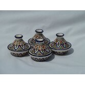 Tabarka Design Mini Tagines (Set of Four)