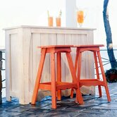 Companion Outdoor Backless Bar Stool