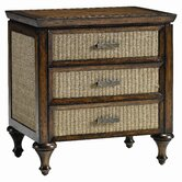 Signatures Southern Latitude 3 Drawer Nightstand