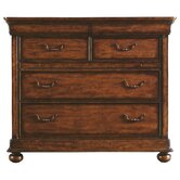 The Classic Portfolio Louis Philippe 4 Drawer Media Chest