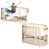 Sleepi System II: Crib and Junior Bed Set in Natural