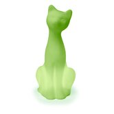 Siamese Cat Pet Lamp in Mist Green
