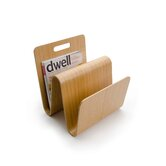 &quot;W&quot; Magazine Stand in Oak