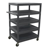 "48"" 5 Shelf Banquet Cart"
