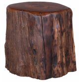 Campfire Stump Stool