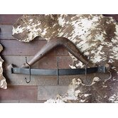 Iron Horse Wall Mounted Duster Rack