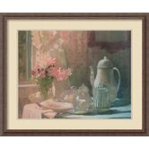 Breakfast Framed Print Wall Art