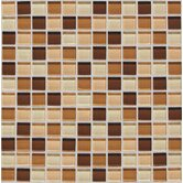 "Legacy Glass 1"" x 1"" Mosaic Tile in Desert Blend"