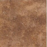 Vallano 18&quot; x 18&quot; Glazed Field Tile in Caramel