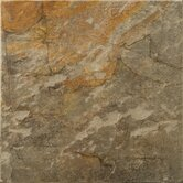 Bombay 7&quot; x 7&quot; Porcelain Floor Tile in Salsette
