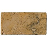 3&quot; x 6&quot; Tumbled Travertine in Oro