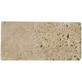 8&quot; x 12&quot; Tumbled Travertine in Mocha