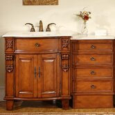 "53"" Savannah Single Bathroom Vanity Set"