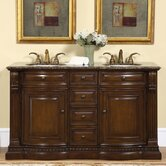 "60"" Somerset Double Bathroom Vanity"