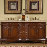 72&quot; Nassau Double Bathroom Vanity