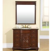 "Michelle 42"" Single Sink Bathroom Vanity Cabinet"