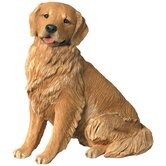 Companion Size Golden Retriever Sculpture