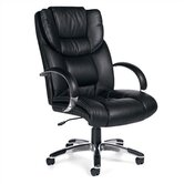 Soft High-Back Leather Executive Chair