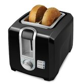 2 Slice Toaster in Black